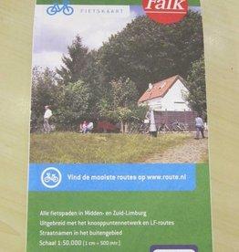 Knooppuntenkaart Midden & Zuid Limburg ( Falk)