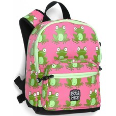 Pick & Pack Frog pink backpack