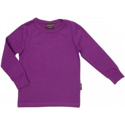 Maxomorra Purple shirt ls