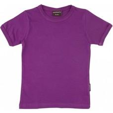 Maxomorra Purple shirt ss