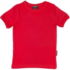 Maxomorra Red shirt ss
