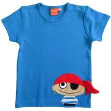 Lipfish shirt Piraat blauw