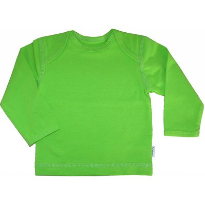 Snoozy Scandinavia Shirt Lime Green ls