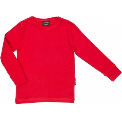 Maxomorra Red shirt ls