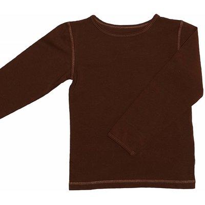 Snoozy Scandinavia Shirt Brown ls