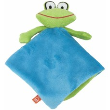 Lipfish knuffeldoekje Frog blue