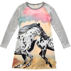 WILD jurk White Horse