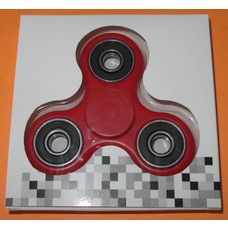 Fidget Spinner Red Black