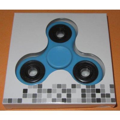 Fidget Spinner Light blue / black