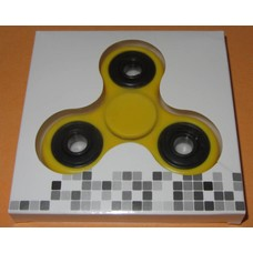 Fidget Spinner Yellow / black # 2
