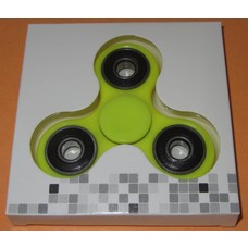 Fidget Spinner Bright yellow / black # 2