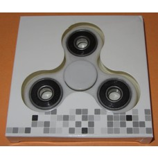Fidget Spinner White / black # 2