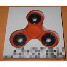 Fidget Spinner Orange / black # 2