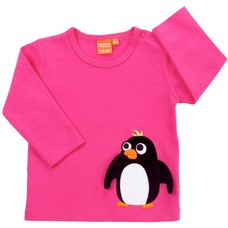 Lipfish shirt penguin cerise
