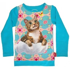 De Kunstboer shirt Cat on Cloud