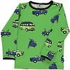 Smafolk shirt Cars groen