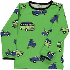 Smafolk shirt Cars green
