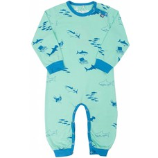 Danefae jumpsuit Sharks wham green