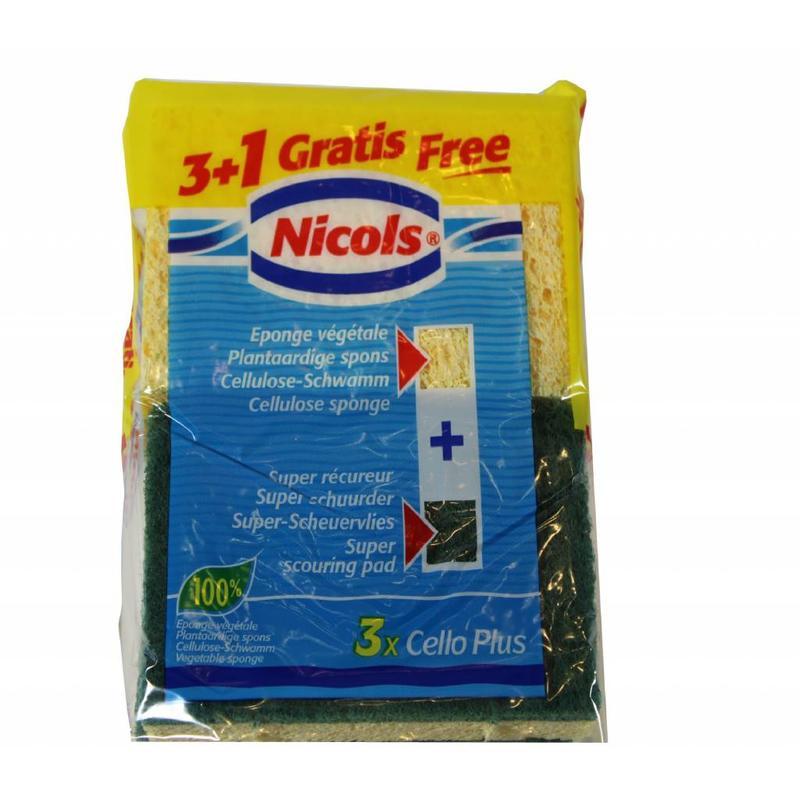 Nicols Plantaardige shuurspons