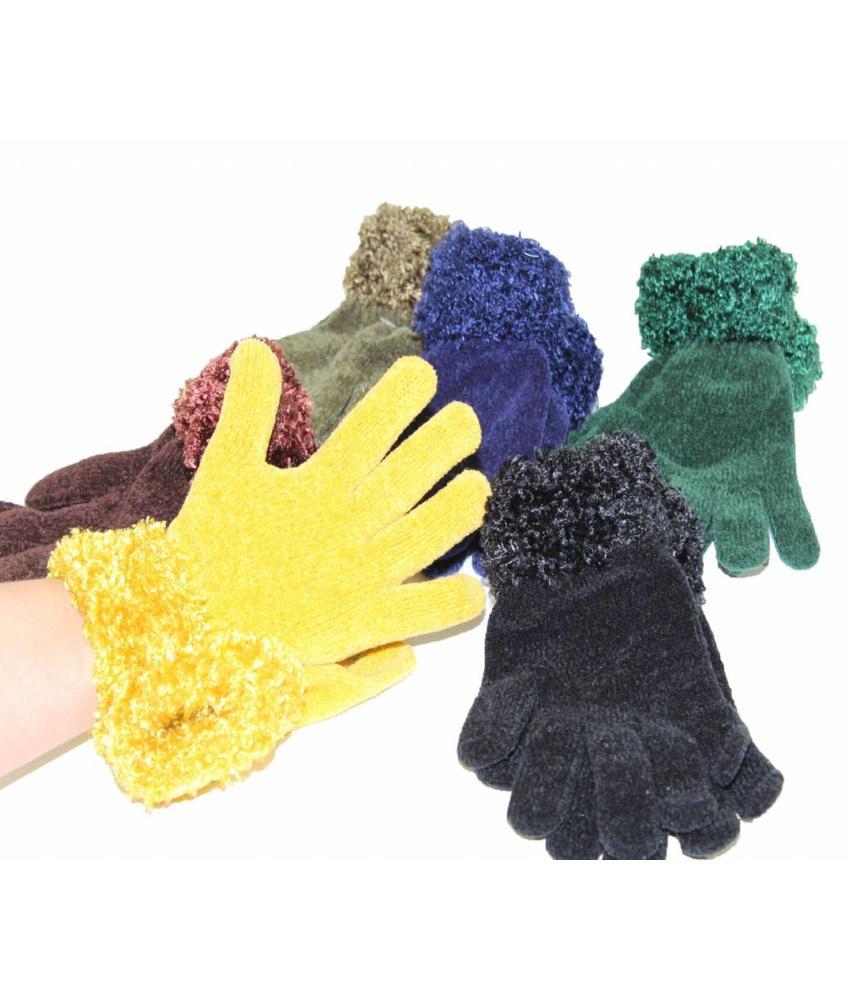 Handschoenen met boord