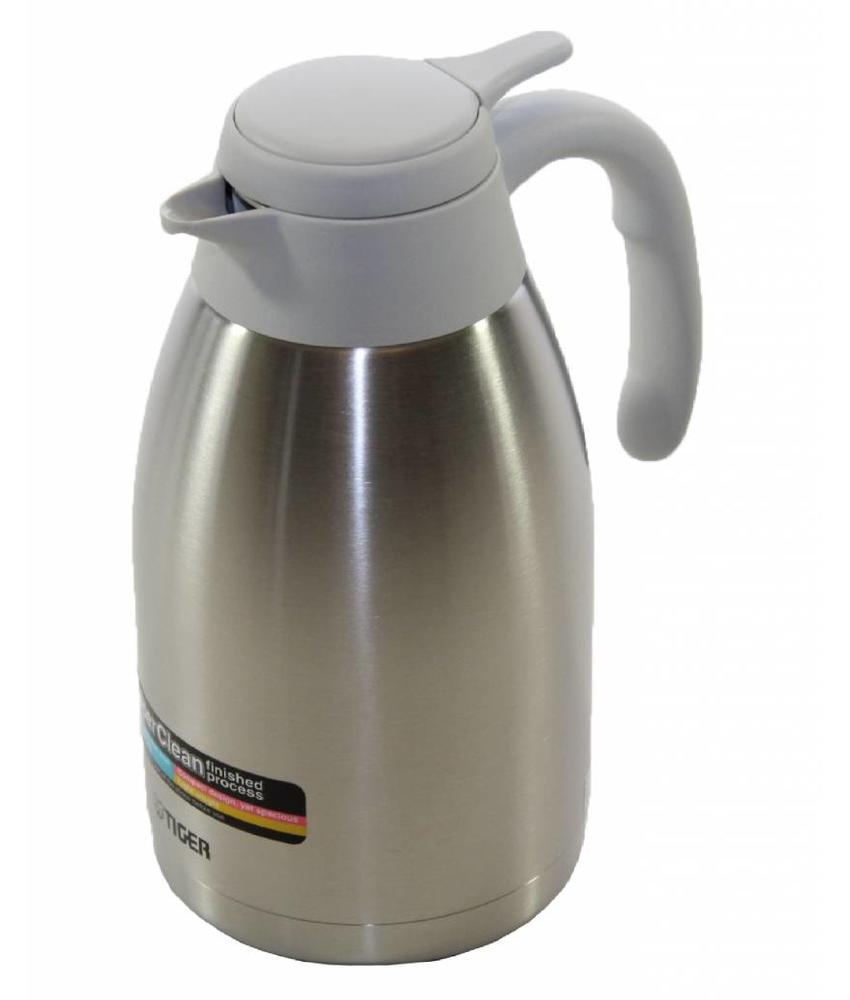 Tiger Stainless 1.6L. Isoleerkan Wit