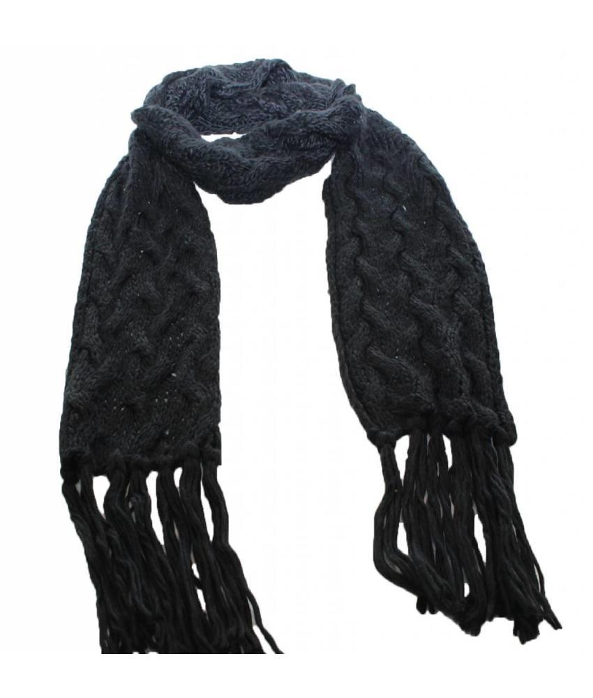 Sjaal gebreid Kabelmotief