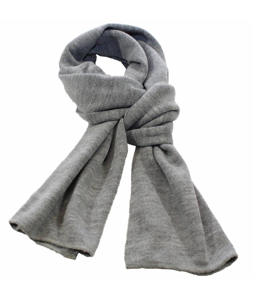 Sjaal gebreid effen