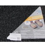Droogloopmat Flexi met boord 40 x 60 cm. Anthracite