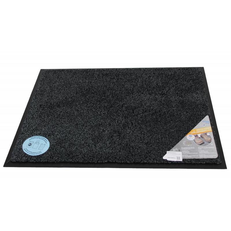 Droogloopmat Flexi met boord 50 x 80 cm. Anthracite