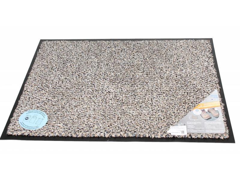 Droogloopmat Flexi met boord 50 x 80 cm Beige