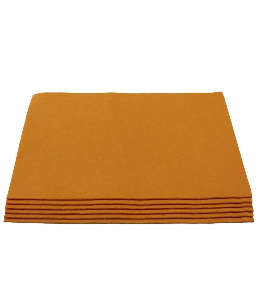 Viscose Dweil orange 6 st. 60 X 70 cm.