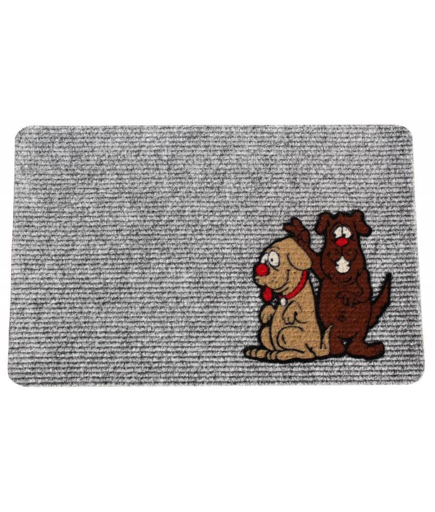 Naaldvilt deurmat Dogs 40 x 60 cm.