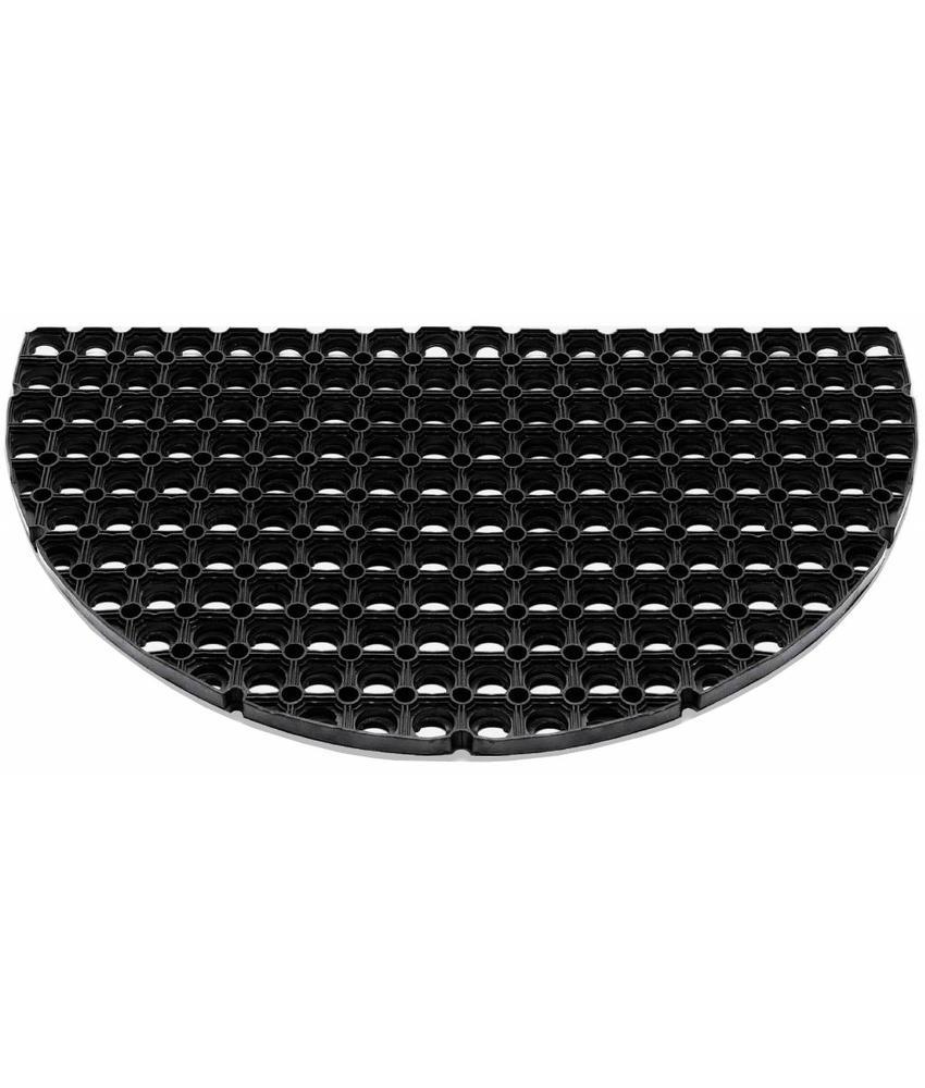 Rubber deurmat Domino HR 45 x 75 cm.