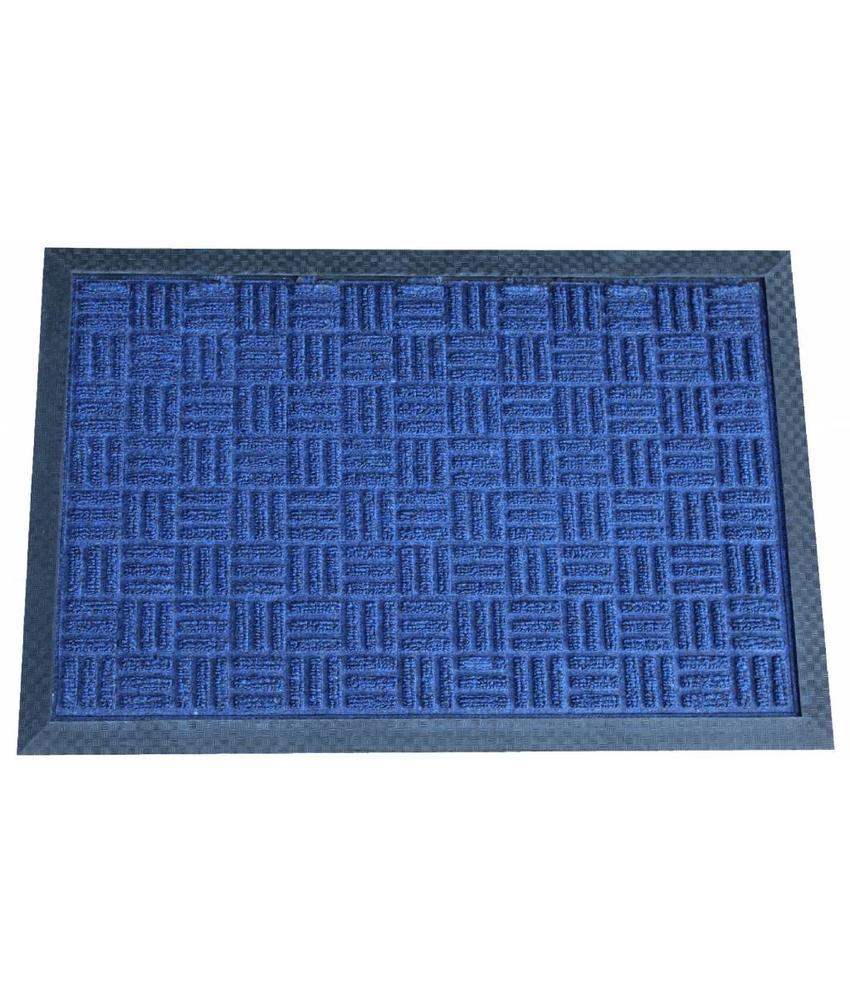 Deurmat Supreme 40 X 60 cm. Blauw