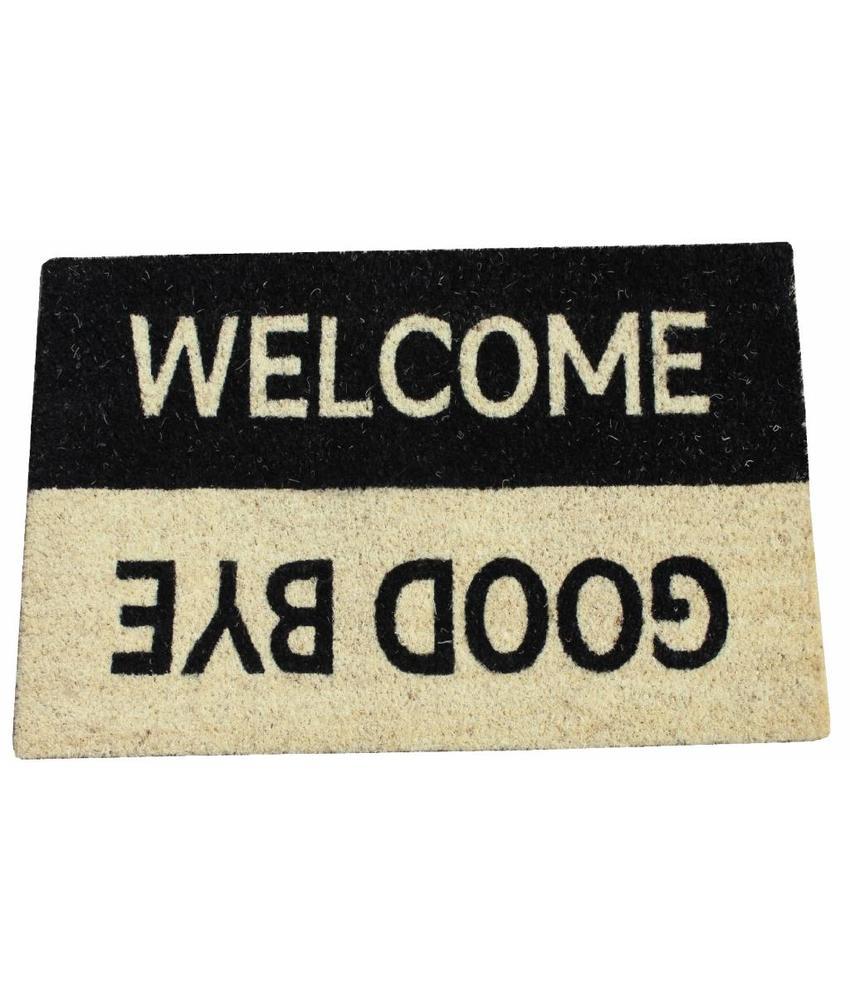 Kokosmat Welcome - Goodbye 40 x 70 cm.