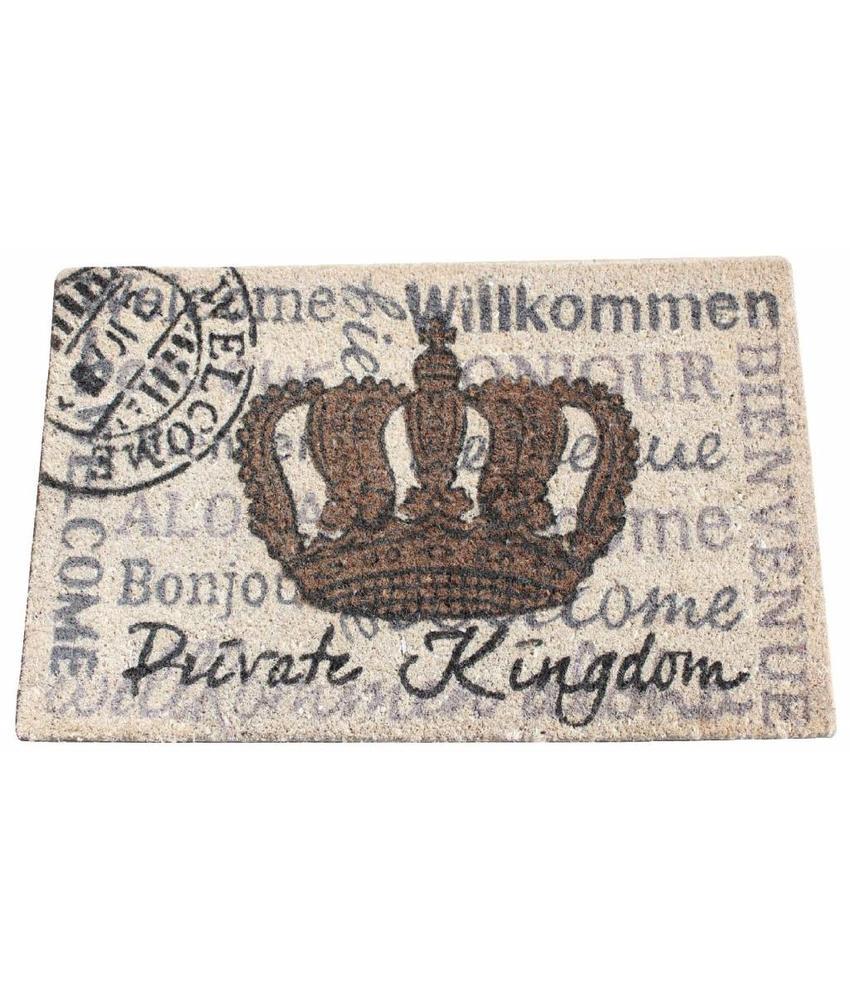 Kokosmat Private Kingdom 40 x 70 cm.