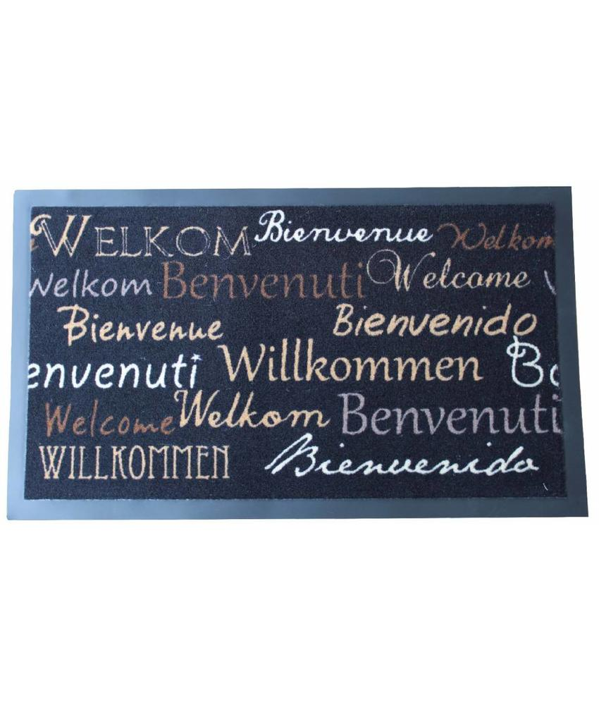 Deurmat Welcome freestyle 45x75 cm.