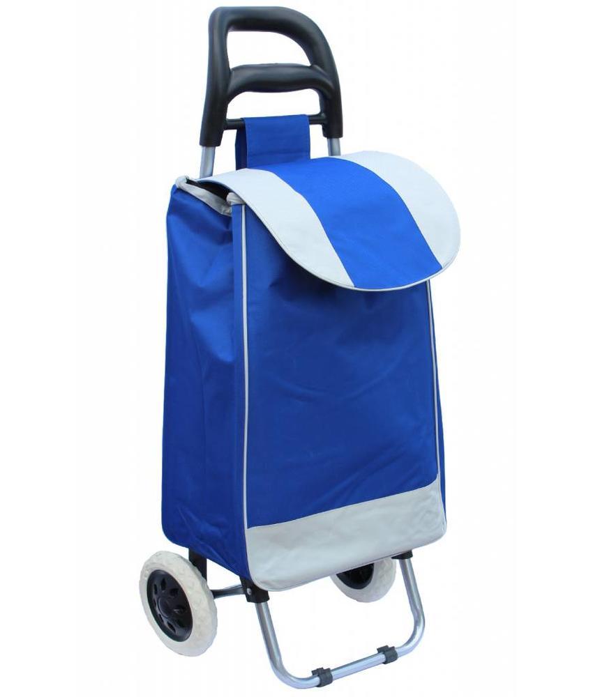 Boodschappentrolley 33 L. Bic Blauw
