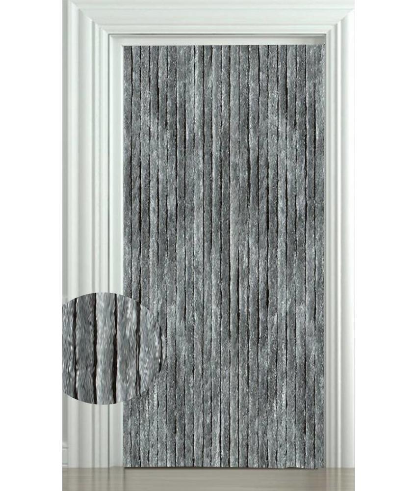 Vliegengordijn kattenstaart 100x220 cm. Grijs