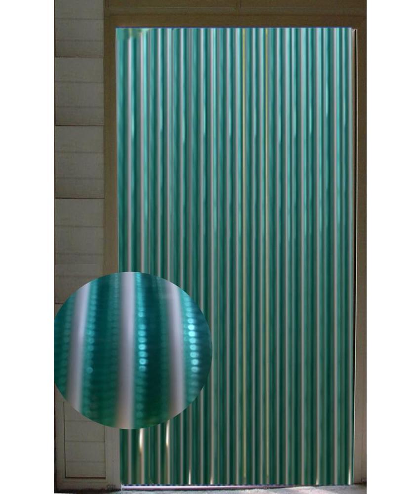 Vliegengordijn pvc Groen/Wit 90x220 cm.