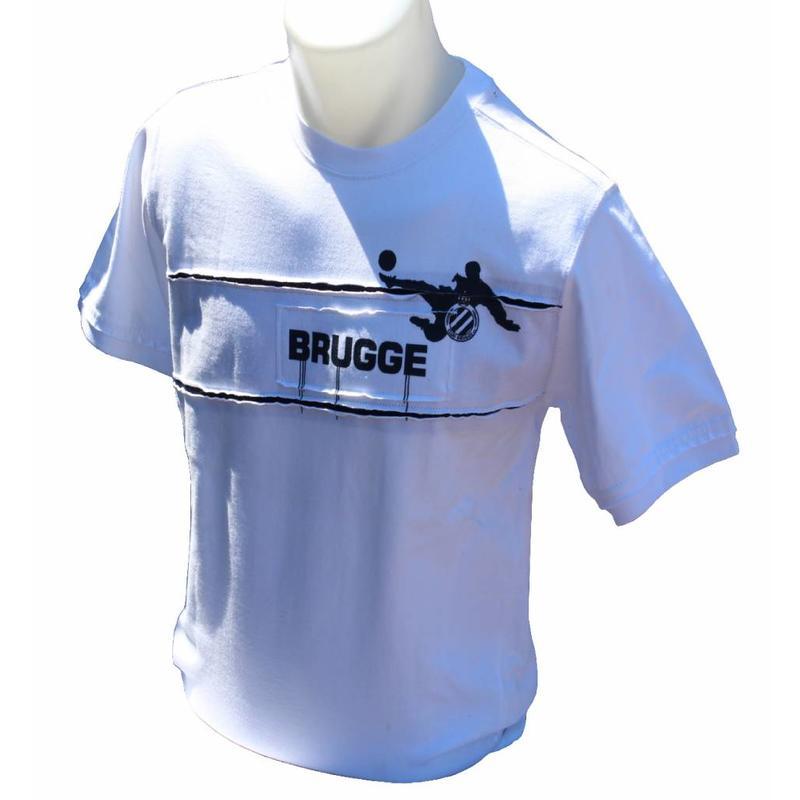 T-shirt Club Brugge Wit
