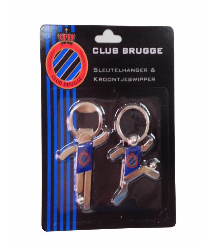 Sleutelhanger & Aftrekker Club Brugge