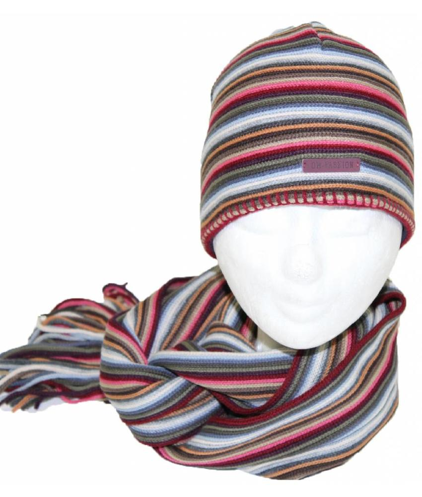 Muts & Sjaal gestreept