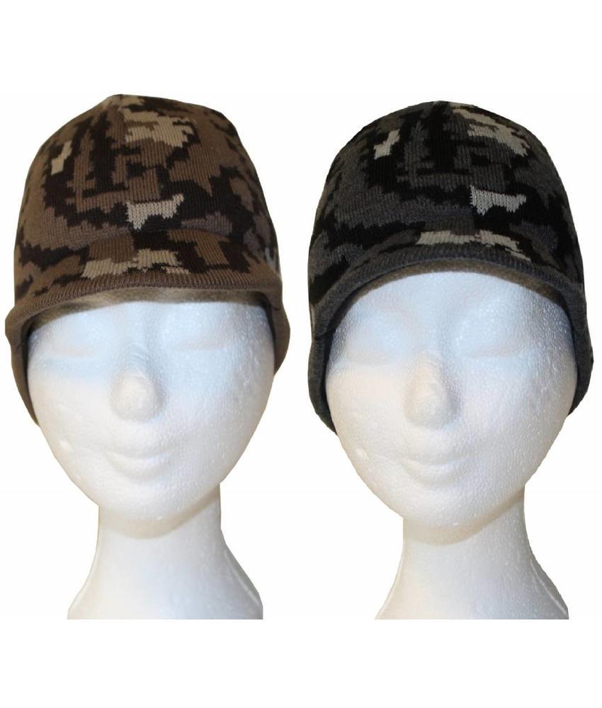 Camouflage Muts met klep
