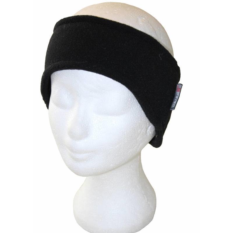Fleece Haarband Zwart