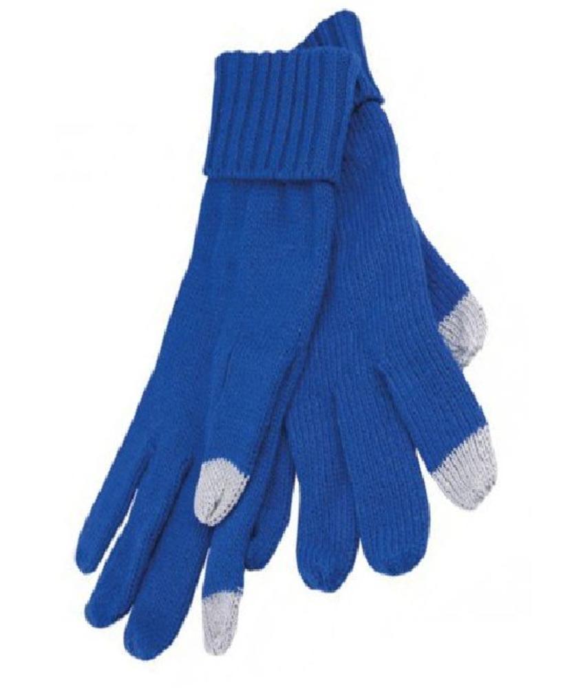 TouchScreen Handschoenen Royal Blauw