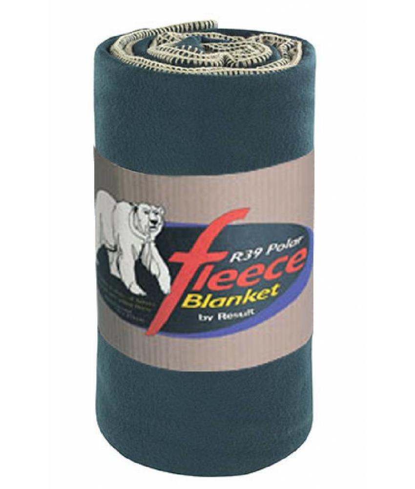 Fleece deken Deluxe 140x175 cm. Forest Groen