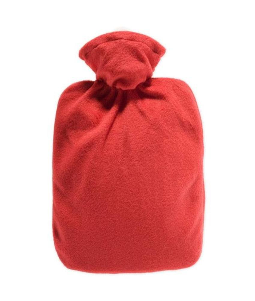 Warmwaterkruik Classic Fleece Rood