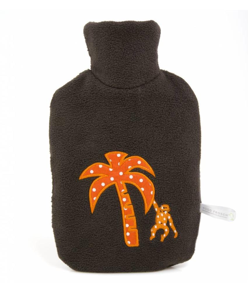 Warmwaterkruik Kind Palm bruin