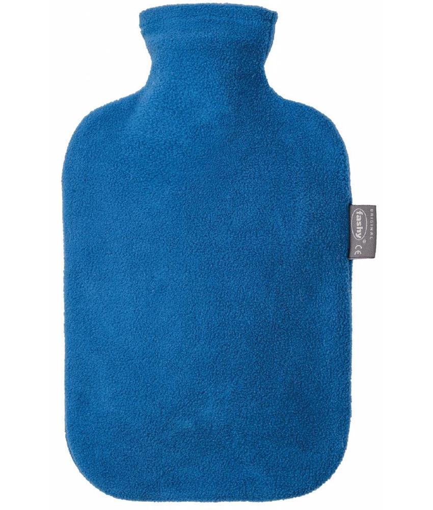 Fashy Warmwaterkruik 2 L. fleece hoes blauw